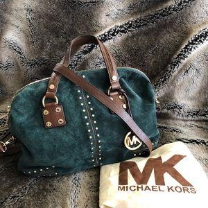 Michael Kors satchel with shoulder strap